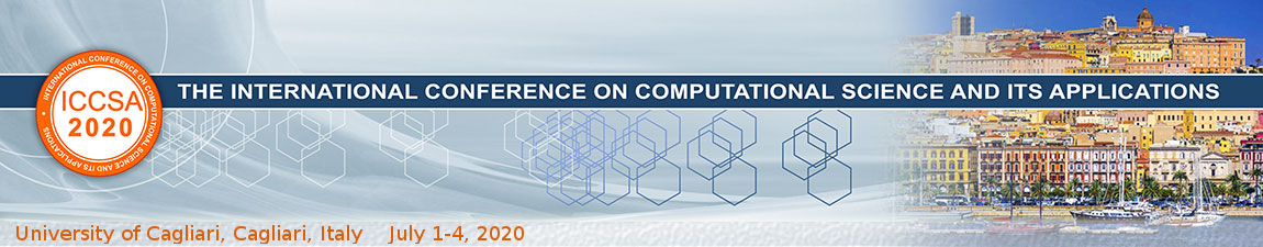 The 20th International Conference on Computational Science and Its Applications - ICCSA 2020 -  Cagliari, July 1 - 4, 2020